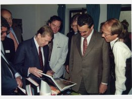 Václav Havel and Karel Schwarzenberg
