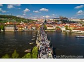 Prague - Castle, Charles Bridge and Petřín