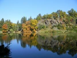 Park Průhonice - pond Bořín